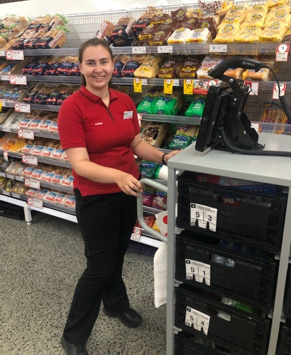 School Leaver Krissy finds Employment, thanks to BUSY Ability